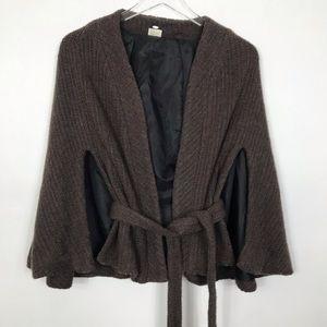Elizabeth Gillet knit Cape
